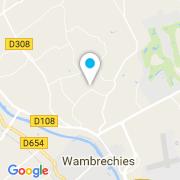 Plan Carte Delos Benoit à Wambrechies