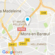 Plan Carte L'Eau pure à Mons en Baroeul