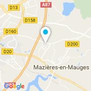 Plan Carte Bommé Paysage à Cholet