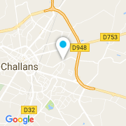 Plan Carte ATS (Piscines Rev'Bleu) à Challans