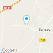 Plan Carte Hello Frédéric à Bunzac