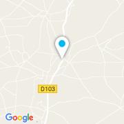 Plan Carte Autour De L'ô à Verrines-sous-Celles