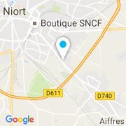 Plan Carte Bonneau Paysages à Niort
