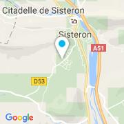 Plan Carte Alpes Piscines Arrosage à Peipin