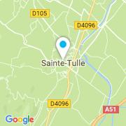 Plan Carte Bruneau Nicolas à Sainte-Tulle