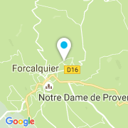 Plan Carte Bernardi Yves à Forcalquier