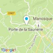 Plan Carte DB Services à Manosque