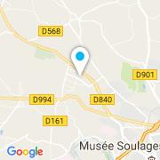 Plan Carte Point Bâches à Rodez