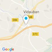 Plan Carte Piscines Rénovations Etancheité à Vidauban