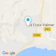 Plan Carte Rieck Monika à La Croix Valmer