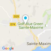 Plan Carte Aqua Concept à Sainte-Maxime