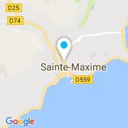 Plan Carte Avenir Bâtiment à Sainte-Maxime
