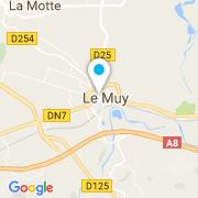Plan Carte Estérel Piscines à Le Muy