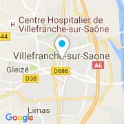 Plan Carte JPH Piscines à Villefranche-sur-Saône