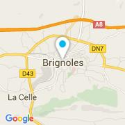 Plan Carte Florea Piscines à Brignoles
