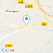 Plan Carte MDP 13 à Meyreuil