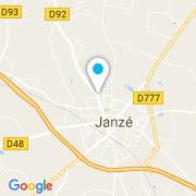 Plan Carte Désiles Paysage à Janze