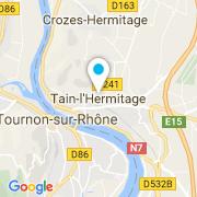 Plan Carte Piscine à Tain l'Hermitage