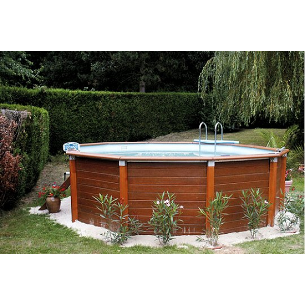 Piscine beton aspect bois design d 39 int rieur et id es de for Piscine encastrable bois